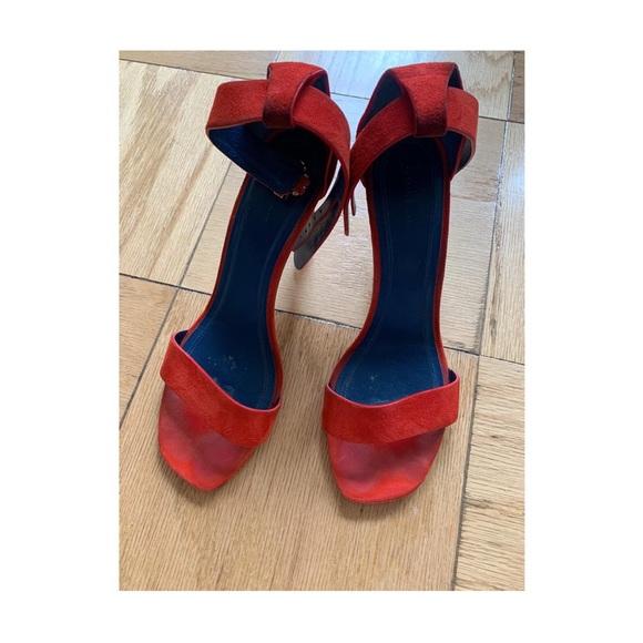 Red Sandals - Celine